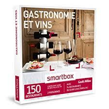 smartbox cuisine du monde smartbox coffret cadeau gastronomie vins 150 restaurants