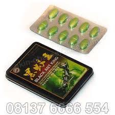 jual obat black ant king asli obat kuat tablet hijau