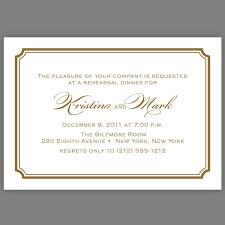 rehearsal and dinner invitation wording exles of rehearsal dinner invitations kawaiitheo