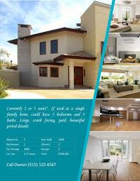 Estate Feature Sheet Template 14 Free Flyers For Estate Sell Rent