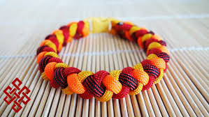 braided weave bracelet images How to make a 4 strand round braid paracord bracelet with buckles jpg