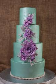 wedding cake lavender mint green and lavender wedding cake cup a cakes llc