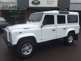 used land rover defender used land rover defender white for sale motors co uk
