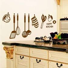 buy decals design stylish kitchen wall sticker pvc vinyl 60 cm buy decals design stylish kitchen wall sticker pvc vinyl 60 cm x 45 cm brown online at low prices in india amazon in