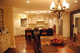 kitchen enchanting look of kitchen and dining room open floor