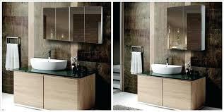 recessed mirrored medicine cabinets for bathrooms recessed mirror cabinet bathroom large size of bathroom vanity