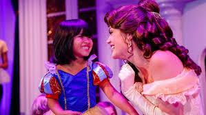 enchanted tales belle walt disney resort