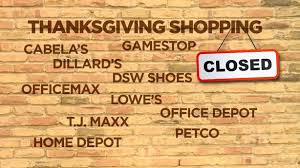is your favorite retailer closed thanksgiving ksl