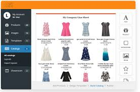 Sheet Templates Create A Line Sheet With Free Templates Catalog Machine
