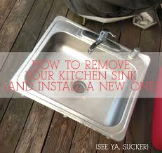 How To Remove An Old Kitchen Faucet How To Disconnect U0026 Reconnect Your Kitchen Sink Ever After Happily