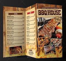 flyer menu template bbq menu templates 27 free psd epd documents free