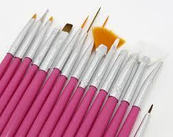 15 pieces nail art brush set nail crafts painting drawing