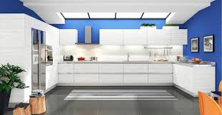 furniture stunning rta kitchen cabinets with skylight and blue