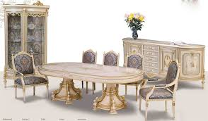 Hand Painted Bedroom Furniture by Venetian Hand Painted High Style Dining Set