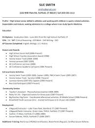 academic resume for college applications sle resume for college admission