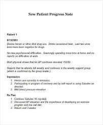 Writing Counselling Session Notes 20 Progress Note Exles Sles