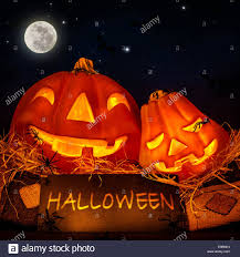 pumpkin decoration images halloween pumpkin decoration on night sky background full moon