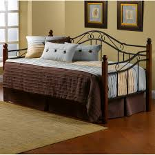 madison iron u0026 wood daybed in black cherry humble abode