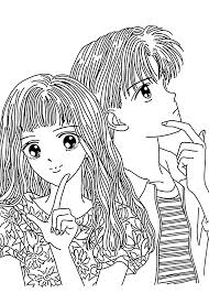 yuu marmalade boy coloring pages for kids printable free clip