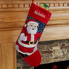 personalized needlepoint santa gifts