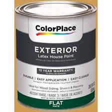 colorplace exterior paint gingerglow 10yy 42 460 orange