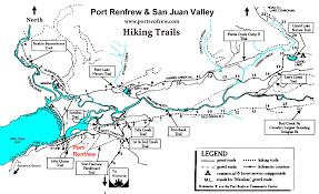 Map Of West Coast Port Renfrew West Coast Trail Coho Salmon Fishing Juan De Fuca