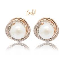 white gold earrings malaysia vive korean style white pear end 8 20 2016 9 15 pm
