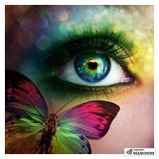 butterfly in your eye 5d painting kit with tweezers and