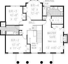 colonial home floor plans pictures historic colonial house plans the architectural