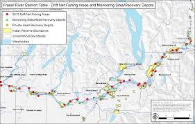 Map Of Rivers Maps Fraser River Peacemakers