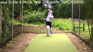 lefthand hd cricket coaching batting drills training visual