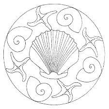 79 ocean mandalas images drawings coloring