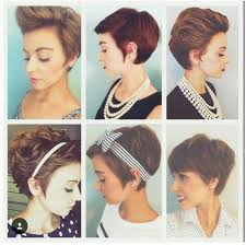 how to style a pixie hair cut hair face nails such pinterest