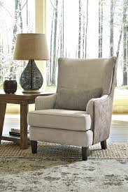 Wingback Accent Chair Ashley 4110121 Baxley Wingback Accent Chair With Dual Sided Upholstery