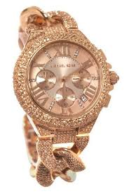 chain link bracelet watches images Michael kors mk3196 reese chronograph rose gold dial rose gold jpg