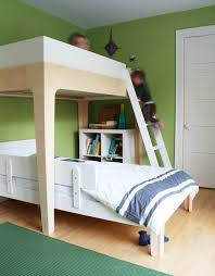 The Bunk Bed Is Built - Oeuf bunk bed
