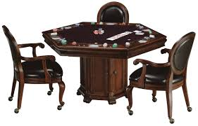 game table chairs on wheels table chair ethan allen game table