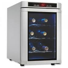 black friday wine fridge ordernow black friday 6 bottle wine cooler in platinum cheap