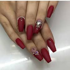 different types of artificial nails that are really cute wedding