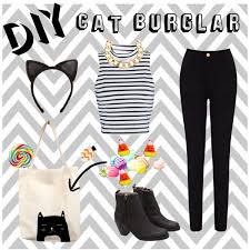 Halloween Burglar Costume Diy Cat Burglar Polyvore