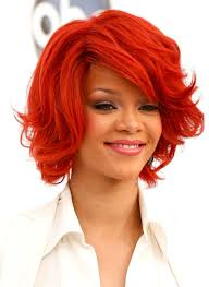 rihanna red short hair styles short red hairstyle 2014 elle