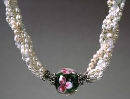 beaded pearl necklace images Ann 39 s beads jewelry designer ann teruya 39 s beaded necklaces jpg
