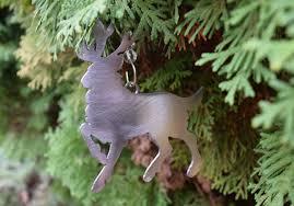 reindeer metal ornaments deer ornament rudolph