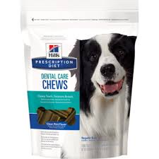 hill u0027s prescription diet dental care chews clean mint flavor