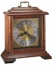 Bulova Valeria Mantel Clock Clocks Wm Widdop Broken Arch Oak Wooden Mantel Clocks With