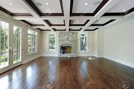 wood ceiling designs living room living room in new construction home with wood ceiling squares