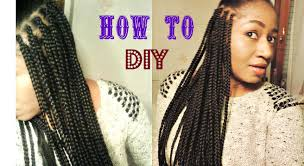 hairstyles with xpression braids diy box braids with xpression hair reupload due to copyright youtube