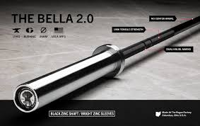 the bella 2 0 rogue women u0027s bar 15kg barbell