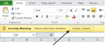 forcing your clients to enable macros u2013 bacon bits