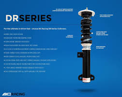 lexus suspension warranty 92 00 lexus sc300 400 bc coilovers dr series u2013 bcracingcoilovers com